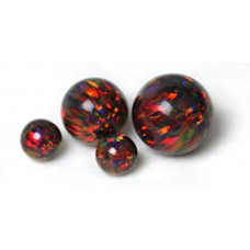 SYNTHETIC OPAL BEADS - OP20 - Multi-Cherry