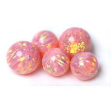 SYNTHETIC OPAL BEADS - OP24 - Salmon Pink