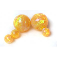 SYNTHETIC OPAL BEADS - OP28 - Citrine